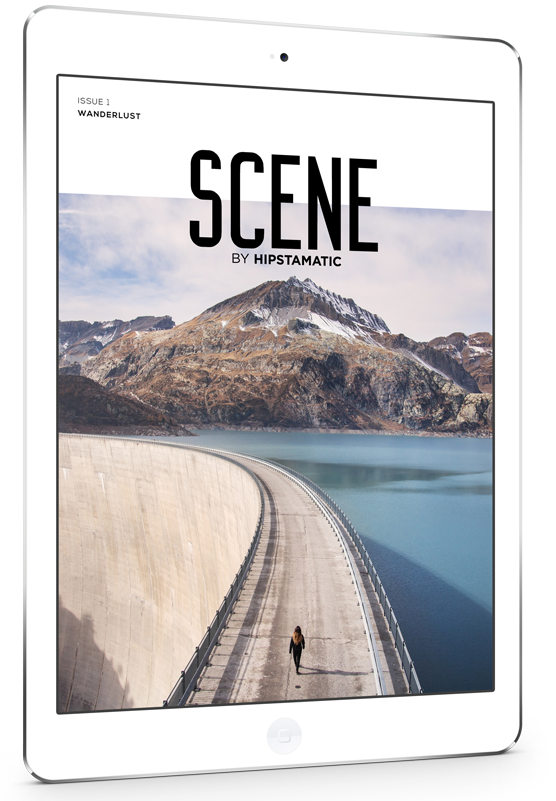 SCENE Magazine on iPad